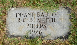 Infant Daughter Phelps
