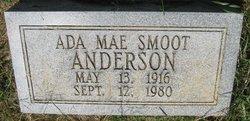Ada Mae <i>Smoot</i> Anderson