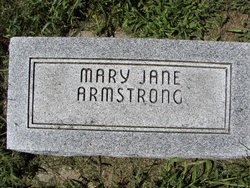 Mary Jane <i>Nall</i> Armstrong