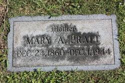 Mary Augusta <i>Senior</i> White Pratt