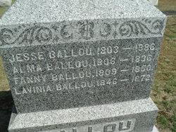 Alma <i>Hulbert</i> Ballou