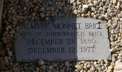 Palmyre <i>Monnet</i> Brice
