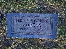 Bertha A. <i>Young</i> Morgan