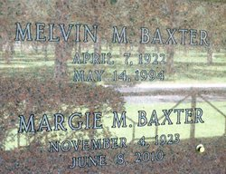 Melvin Mccuin Baxter