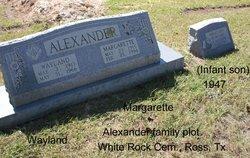 (Infant Son) Alexander