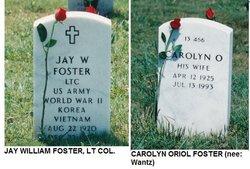 Carolyn Oriol <i>Wantz</i> Foster