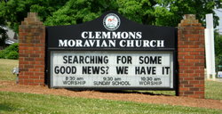 Clemmons Moravian God's Acre