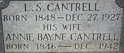 Lazarus Sylvester L.S. or Babe Cantrell