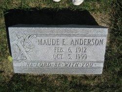 Maude E <i>Hall</i> Anderson