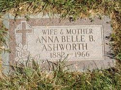 Anna Belle <i>Brown</i> Ashworth