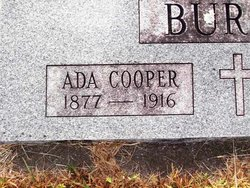Ada Tennessee <i>Cooper</i> Burch