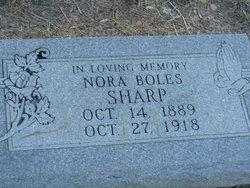 Nora Westley <i>Sharp</i> Boles