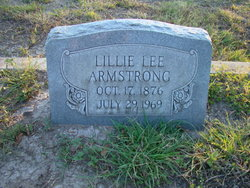 Lillie Lee <i>Cude</i> Armstrong