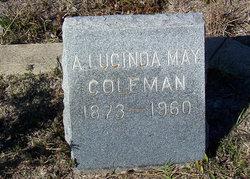 Agnes Lucinda May <i>Newell</i> Coleman
