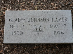 Gladys <i>Johnson</i> Hamer
