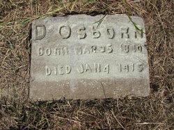 Dudley E Osborn