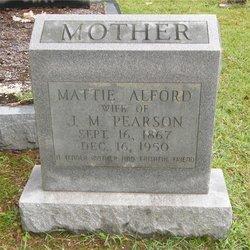 Mattie Alford Pearson