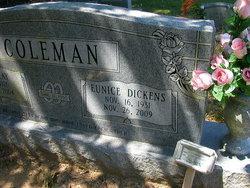 Eunice Inez <i>Dickens</i> Coleman