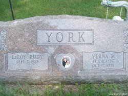 Verna M York