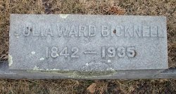 Julia <i>Ward</i> Bicknell