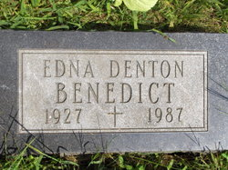 Edna <i>Brownfield</i> Benedict