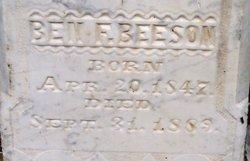Benjamin Franklin Ben Beeson