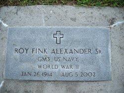 Roy Fink Alexander