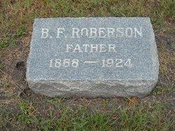 Benjamin F. Roberson