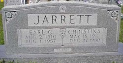 Christina Wilhelmina <i>Fischer</i> Jarrett