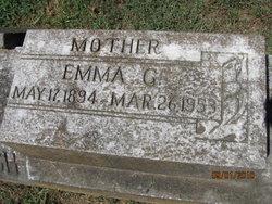 Emma G <i>Wilson</i> Lynch