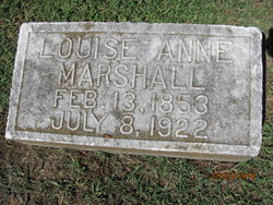 Louise Anne <i>Matthew</i> Marshall