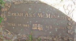 Sarah Ann <i>Terry</i> McMenemy