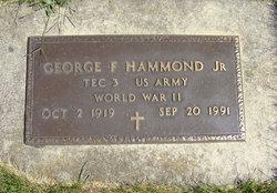 George F Hammond, Jr