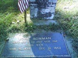 Sgt John Bowman