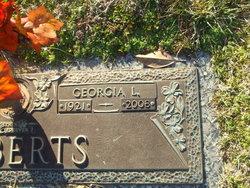 Mrs Georgia L. Roberts