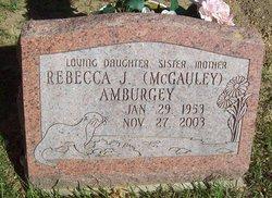 Rebecca J. <i>McGauley</i> Amburgey