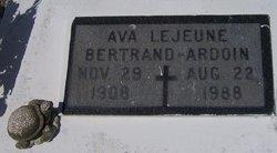 Ava <i>LeJeune Bertrand</i> Ardoin