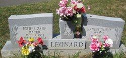 Esther Zane <i>Racer</i> Leonard