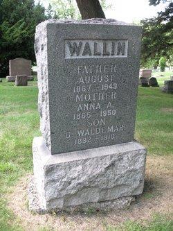 Anna A. <i>Nelson</i> Wallin