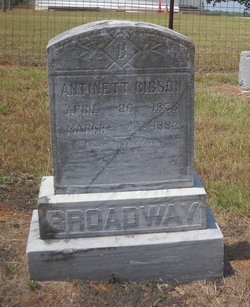 Antinett Gibson Broadway