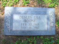 Denley Louise <i>Gill</i> Boone