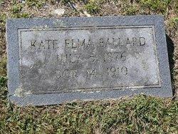 Kate Elma Ballard
