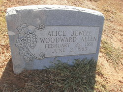 Alice Jewell <i>Criswell</i> Allen