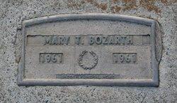 Mary T Bozarth