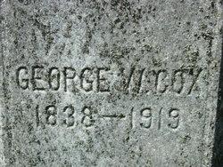 George W Cox