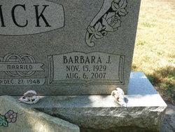 Barbara J. <i>Haley</i> Dick