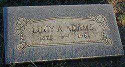 Lucy Ann <i>Bennison</i> Adams