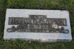 Hannah O. Anderson