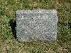 Alice A. <i>Horner</i> Appleby