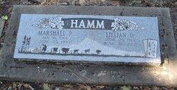 Marshall Robert Hamm